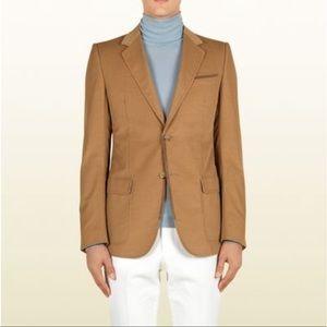 Gucci Fine Corduroy Marseille Jacket Blazer w/ Suede Trimming - 46R (Medium)